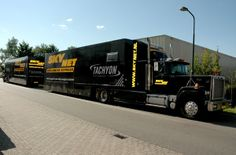#Autobelettering voor een vrachtauto!