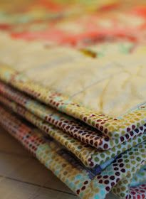 olive and ollie: tutorial: how to attach quilt binding by machine