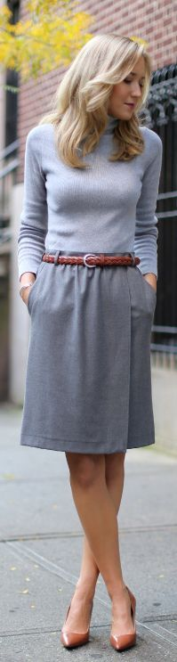 #Shades Of #Gray by The Classy Cubicle => Click to see what she wears