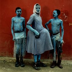 Шокирующая Африка: маскарадные и ритуальные костюмы языческих племен