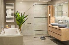 Double Vanity, Sweet Home, Home And Garden, Bathtub, Indoor, House Design, Bathroom, Kitchen, Garden Ideas