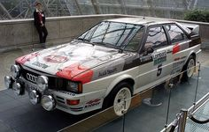 Audi Quattro - WRC 1983 Hannu Mikkola