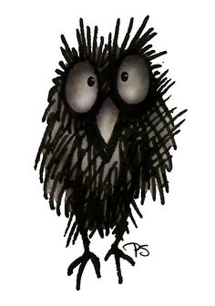 Funny Confused Night Owl by Paul Stickland for on Redbubble Owl T Shirt, Owl Cartoon, Dazed And Confused, Night Owl, Owl Art, Love Drawings, Online Gifts, Ink, Owls
