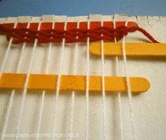 Attività con i bambini: come fare un telaio per tessere - FunLab Blog