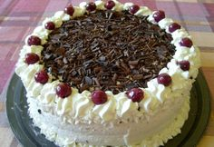 Feketeerdő torta Suzie Babától Atkins, Tapas, Cheesecake, Food And Drink, Pie, Ethnic Recipes, Hungary, Torte, Cake