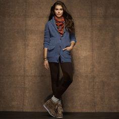 Men'S Cardigan Polyester Sweater Acrylic 46