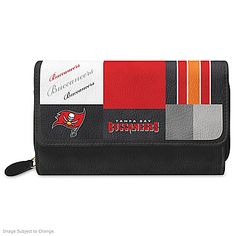 For The Love Of The Game NFL Tampa Bay Buccaneers Patchwork Wallet