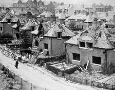 Baxter Street - The Greenock Blitz was two nights of intensive bombing of the town of Greenock, Scotland during the Second World War when the Luftwaffe attacked in May 1941.