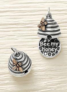 """""""Bee My Honey"""" Charm #JamesAvery"""