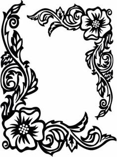 Easy flower designs to draw best design drawing all home interior to draw easy designs for . easy flower designs to draw Rose Coloring Pages, Adult Coloring Pages, Coloring Sheets, Coloring Books, Stencils, Metal Embossing, Wood Burning Patterns, Leather Pattern, Motif Floral