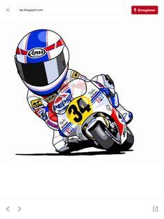 Motocross, Suzuki Cafe Racer, Joker Art, Speed Bike, Valentino Rossi, Motorcycle Bike, Super Bikes, Street Bikes, Bike Design