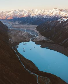 Daybreak over the Southern Alps, New Zealand Instagram photo by @jasoncharleshill •