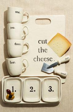 cut the cheese.