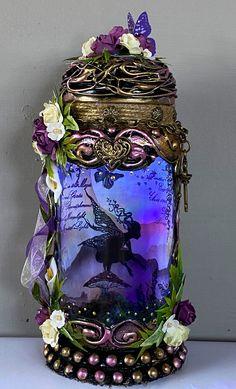 Fairy Jars, Beautiful Fairies, Jar Lights, Lisa, Country, Southern, Decor, Faeries, Decoration