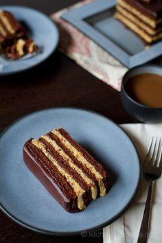 Chocolate Pumpkin Torte by kitchenconfidante #Torte #Chocolate #Pumpkin
