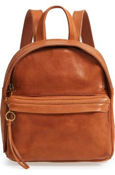 29fc548a8333 Madewell Mini Lorimer Leather Backpack