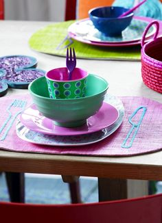 Melamine from Rice - it really does represent all we love at Rice - it is fun, funky, fabulous and above all FUNCTIONAL.