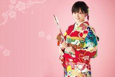 Photo: KIMONO  #AKB48  #NMB48  #山本彩  #야마모토사야카  #yamamotosayaka (๑> ₃ <)ノ ❤