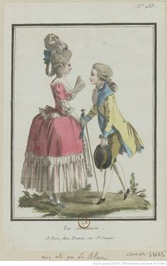 Titre:La Salutation. : [estampe] / [Louis-Marin Bonnet] Auteur:Bonnet, Louis-Marin (1743-1793). Graveur