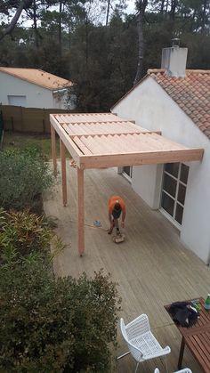 Pergola Patio, Pergola Plans, Backyard, Pergola Designs, Curb Appeal, My House, Outdoor Living, Garden Design, Exterior