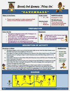 "PE BREAKOUT GAMES FOR SMALL GROUPS! ""PLAY ON"" - TeachersPayTeachers.com"