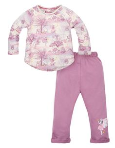Baby Starlight Sweat Set | Pink | Monsoon