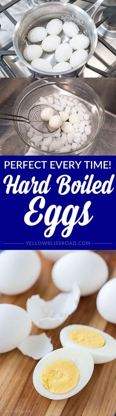 Hard Boiled Eggs - P