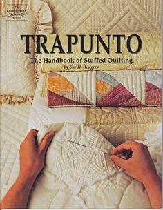 Trapunto  The Handbook of Stuffed Quilting by 7thStash on Etsy, $4.50