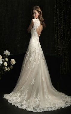 Allure Bridals 8965 Vintage Lace Wedding Dress (Dream Dress) !!!