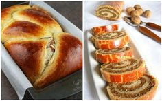 Durante la Pascua, en Rumania, Bulgaria, Macedonia y Albania se prepara este delicioso postre marmol... - @Pinterest