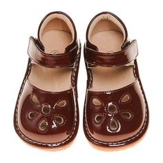 Pre Order Brown Petal Patent Style Squeaky Shoes (June) – Southern Tots Squeaky Shoes, Mary Janes, Southern, June, Brown, Style, Fashion, Swag, Moda
