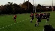 Amateur rugby heel flick try. http://ift.tt/2eZfPSX Love #sport follow #sports on @cutephonecases