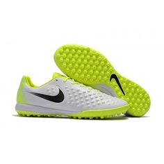 separation shoes 40909 7f9a9 New Nike Magista Orden II TF Football Boots White Fluo Green Online Nike  Football Boots,