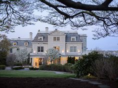 """I mean, look at this place: It's a Newport mansion on a National Recreation Trail and just a three-minute walk from the beach. Inside, the 1873 congressman's residence mixes Gothic, Renaissance, and English Tudor interiors—nothing says """"romance, romance, romance"""" like the Old World, right? Readers agree: """"Amazing setting, service, and style."""""""
