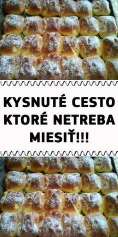 KYSNUTÉ CESTO, KTORÉ NETREBA MIESIŤ!!! Banana Bread, Ale, Hampers, Ales