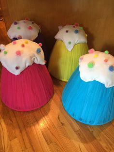 DIY Giant Gumdrop Chairs | DIY Party & Crafts