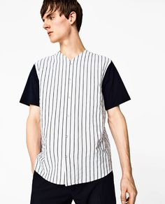 Image 2 of BASEBALL SHIRT from Zara