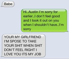 hahahahaha. This boyfriend is amazing.