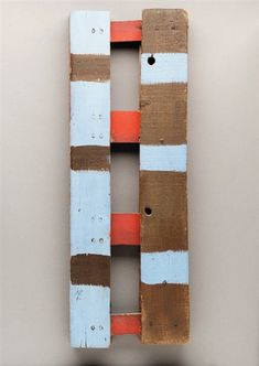 berndwuersching: Betty ParsonsLadder, 1968 keep it simple WEBSITE! Abstract Painters, Abstract Art, Art Database, Beach Art, Wood Colors, American Artists, Art And Architecture, Abstract Expressionism, Wood Art