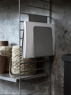 Swedish Design for the office Swedish Design, Scandinavian Design, Pella Hedeby, Shelving Solutions, Small Space Storage, Neutral Colour Palette, Next At Home, The Office, Portfolio Design