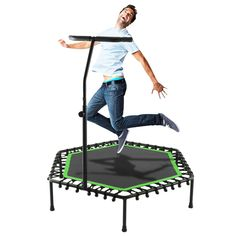 Free 2-day shipping. Buy Elecmall Fitness Trampoline Bungee-Rope-System with Adjustable Handlebar at Walmart.com