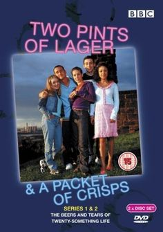 Two Pints of Lager & a Packet of Crisps - Series 1 & 2 [DVD] [2001] DVD ~ Will Mellor, http://www.amazon.co.uk/dp/B00009V90H/ref=cm_sw_r_pi_dp_r6sUqb1YMA1BQ
