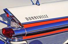 1957 Pontiac Bonneville Taillights - Car Images by Jill Reger