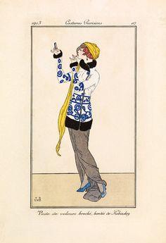 Costumes Parisiens - Gazette du Bon Ton Prints - Easyart.com
