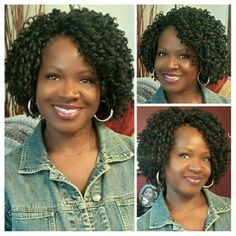 40 Short Crochet Hairstyles Crochet styles are cute, versatile, and a great alternative to other protective styles like braids, twists, and weaves. Here are 40 great short crochet styles. Curly Crochet Hair Styles, Curly Hair Styles, Natural Hair Styles, Short Crochet Braid Styles, Black Girls Hairstyles, Bob Hairstyles, Braided Hairstyles, Short Crochet Braids Hairstyles, Black Girl Braids