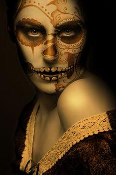 Sugar skull Martin Wasner | Halloween | day of the dead | catrina