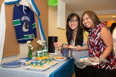 Mitchell to Morgan: Canucks themed baby shower