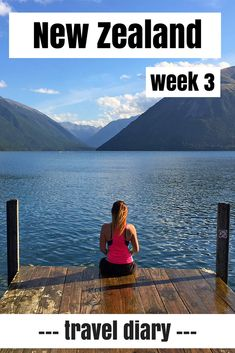 Follow my adventurous journey through New Zealand in my weekly diary. This week I took the ferry from the North Island to the South Island in a storm and hiked in the beautiful and unknown Nelson Lakes National Park.