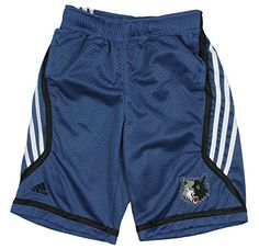 Adidas Performance Minnesota Timberwolves Nba Big Boys Chosen Few Illuminator Shorts, Blue Large / 14/16 - Blue