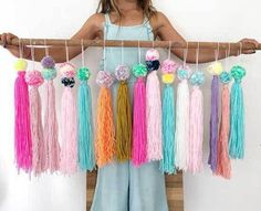 Home Decor ideas &Home Garden & Diy Crafts For Kids, Diy Crafts, Cool Diy Projects, Macrame, Crafty, Cool Stuff, Birthday, Floral, Fabric